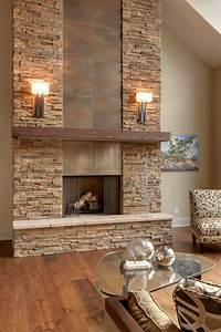 austin stone fireplace living room contemporary with