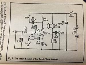 Fuzz Unit With Treble Booster Circuit