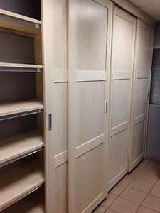 Construire Un Placard : placard portes coulissantes par zeloko sur l 39 air du bois ~ Premium-room.com Idées de Décoration