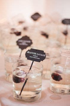 place card displays images wedding inspiration