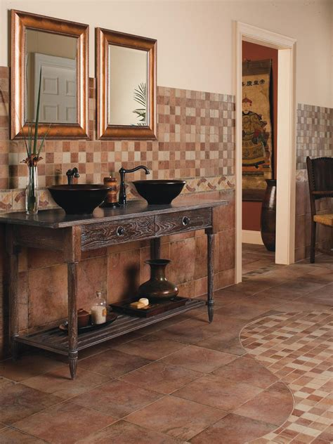 bathroom ceramic tiles ideas ceramic tile bathroom floors hgtv