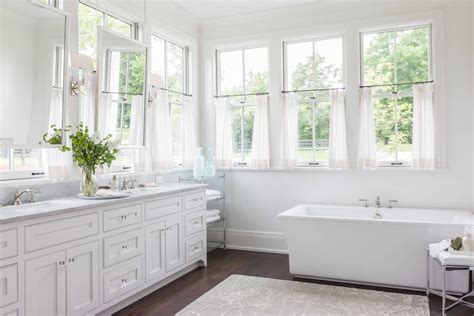 tips ideas  choosing bathroom window curtains