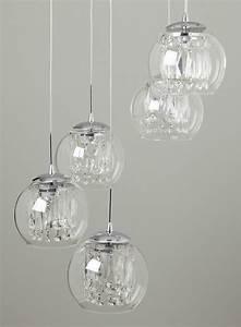 Smoke nakita cluster pendant ceiling lights lighting