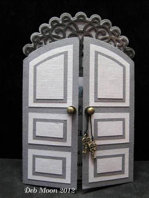 arched door card   plain rectangle door