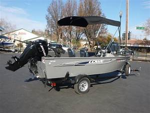 16 Foot Aluminum Lowe Boats For Sale
