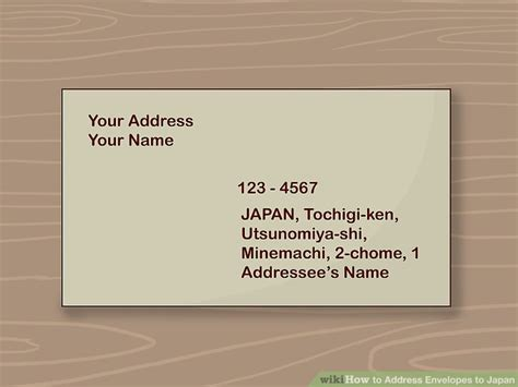 ways  address envelopes  japan wikihow
