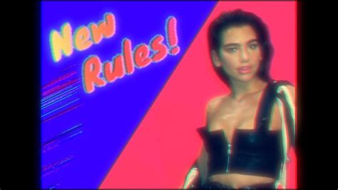 Dua Lipa  New Rules [initial Talk 80s Rules Remix