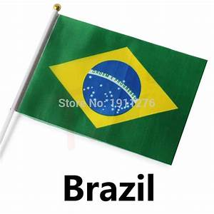 Online Buy Wholesale national flag brazil from China