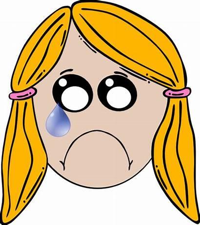 Sad Lady Clipart Clip Clker Cliparts Domain