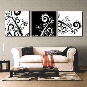 15 nice black and white wall decor ideas homeideasblogcom With white wall decor
