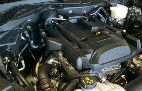 mustang ecoboost engine underhood shot