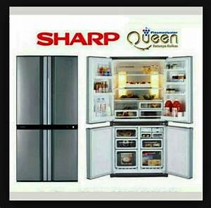 Jual Sharp Kulkas 4 Pintu Queen Series Sj