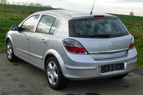 Opel Astra H by File Opel Astra H Facelift 2007 2009 Rear Mj Jpg