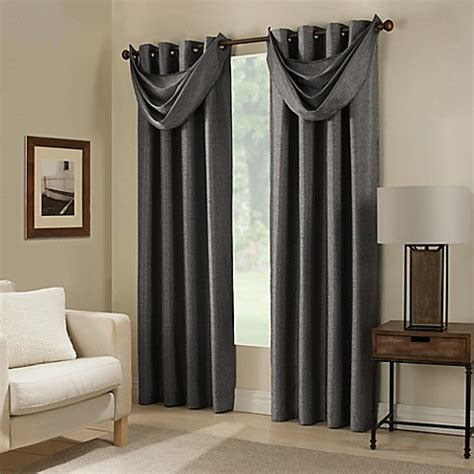bed bath and beyond curtains paradise room darkening grommet top window curtain panel