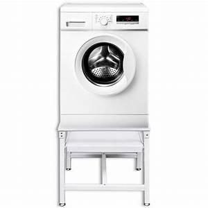 Regal Für Waschmaschine : der untergestell f r waschmaschine sockel podest mit ausziehregal wei online shop ~ Sanjose-hotels-ca.com Haus und Dekorationen
