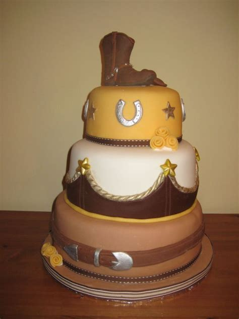 western wedding cakes pictures ideas of the western themed wedding cakes weddingelation 1253