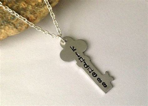#kindness Is #key #necklace By Blissfulbirddesigns On Etsy