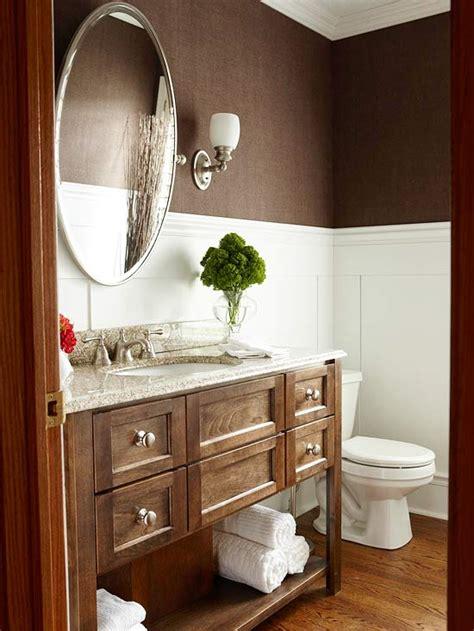 Brown Bathroom Wallpaper 2017  Grasscloth Wallpaper