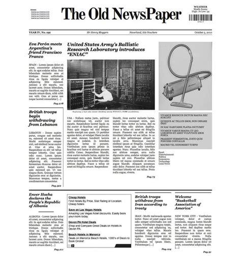Newspaper Theme The Newspaper Wp Theme V1 By Lysergicstudio On Deviantart