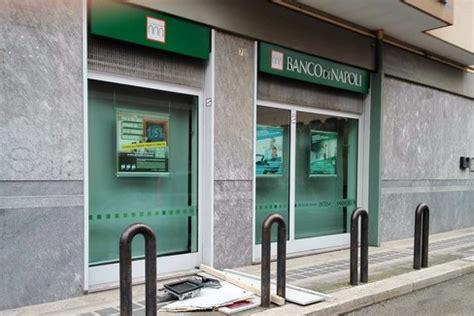 filiale banco di napoli barletta esplosione al bancomat nel mirino il banco di