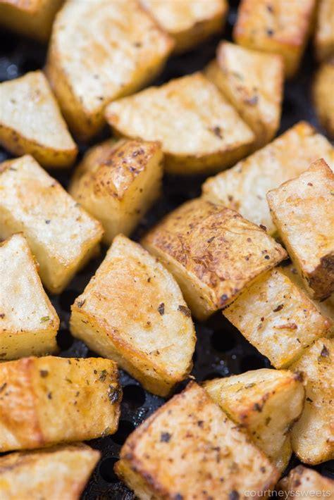 roasted fryer potatoes air potato recipe oven seasoning fresh mix seasoned success using crispy concord without