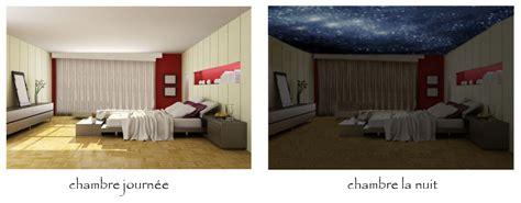 plafond étoilé chambre kit de décoration ciel étoilé au plafond de la chambre