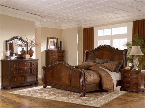 wash finish classic 5pc bedroom set w marble tops posts