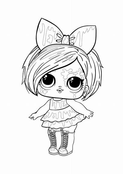 Lol Coloring Surprise Coloriage Doll Omg Dolls