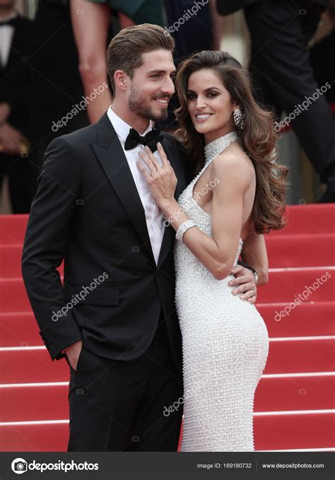 izabel goulart kevin trapp kevin trapp and izabel goulart stock editorial photo