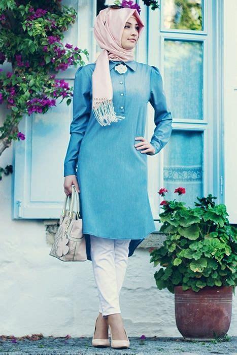 fashion tunik gamze polat acik mavi tunik abaya caftan