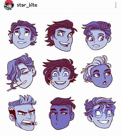 Character Drawing Reference Hairstyle Drawings Guy Characters