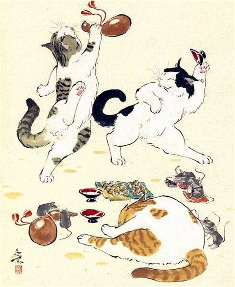 japanese cat ideas  pinterest mici image
