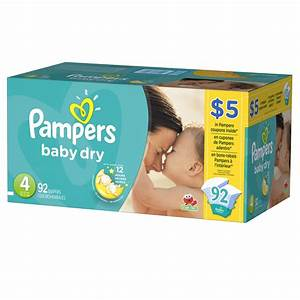 Buy PAMPERS Baby Dry Size 4 Diapers 92 Pack from Value Valet