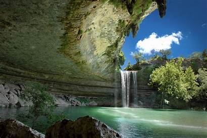 Cave Lake Desktop Wallpapers Backgrounds Nature