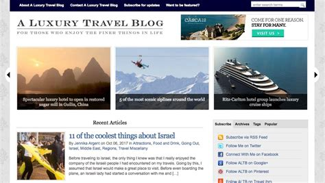 Top 10 Travel Blogs On The Internet Today