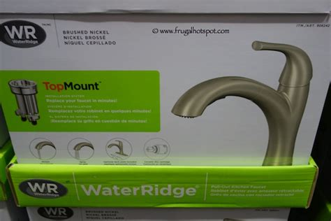Waterridge Pull-out Kitchen Faucet .99