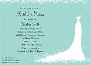 Bridal shower invitations bridal shower invitations for Wedding shower invite wording