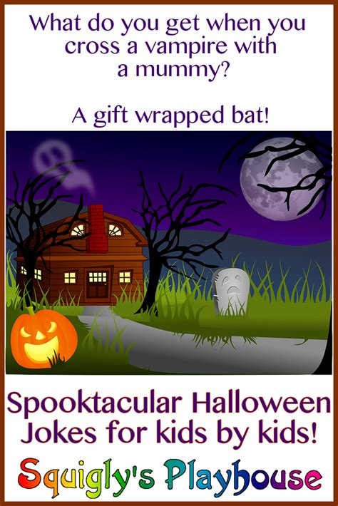 Halloween Jokes Riddles Adults by Halloween Jokes And Riddles For Kids Squigly S Playhouse