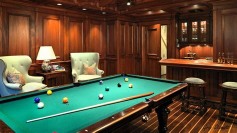 billiards room interior design tips  ideas home