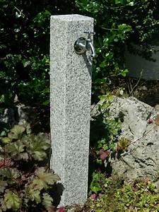 Wasserhahn Für Garten : wasserzapfs ule aus geflammten granit wasserzapfstelle au enwasserhahn ebay ~ Watch28wear.com Haus und Dekorationen