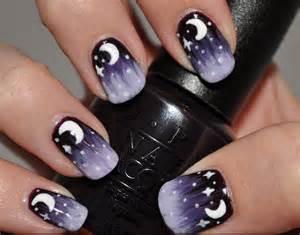 Black nail arts