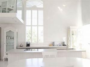 bright white minimalist interior design
