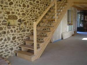 Escalier Bois Pas Cher : installer un escalier droit elle d coration ~ Premium-room.com Idées de Décoration