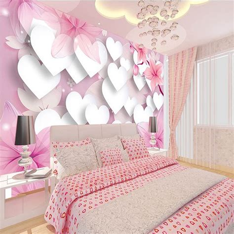 pink wallpaper for bedroom 3d wallpaper for wall 3d home wallpaper princess children 16758   3D wallpaper for wall 3d Home wallpaper Princess children s room wallpaper perspective pink romantic love