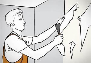 Alte Tapeten Ablösen : raufaser tapezieren in 9 schritten obi ~ Watch28wear.com Haus und Dekorationen