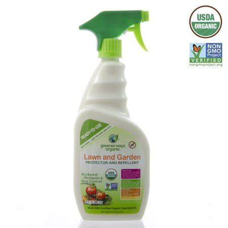 Backyard Spray by Greenerways Organic Insecticide Mosquito Repellent