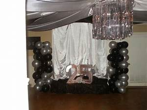 17 best images about 25th anniversary ideas on pinterest With 25th wedding anniversary balloons decorations