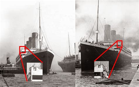 Titanic Sinking Simulator 2 by Titanic And Olympic How To Tell Them Apart In Photographs