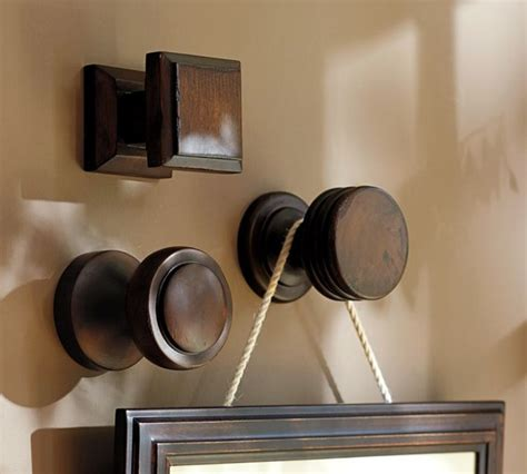 pottery barn decorative wall hooks oversize frame hanger contemporary wall hooks by