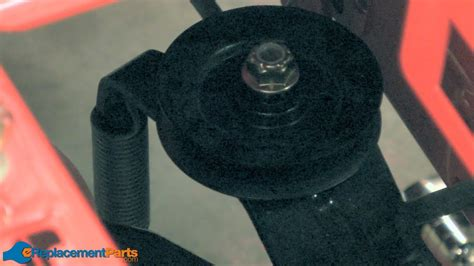 replace  transmission idler pulley   troy